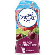 Crystal Light Black Cherry Lime Naturally Flavored Drink Mix