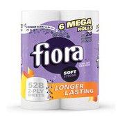 Fiora Lavender Scented Core Mega Rolls Toilet Paper