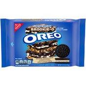 Oreo Brookie-O Brownie, Original & Cookie Dough Crème Chocolate Sandwich Cookies, Limited edition.
