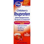 Kroger Ibuprofen, Children's, Berry Flavor