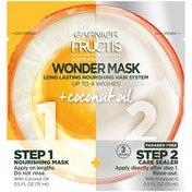 Garnier Fructis With Active Fruit Protein Wonder Mask Long Lasting Nourishing Hair System Hair Mask