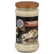 Culinary Circle Pasta Sauce, Creamy Roasted Garlic Peppercorn Alfredo