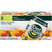 Hansen's Diet Ginger Ale Premium Soda