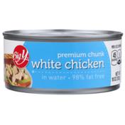 Big Y Premium Chunk White Chicken In Water