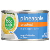 Food Club Pineapple Crushed In Pineapple Juice