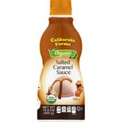 California Farms Sauce, Organic, Salted Caramel