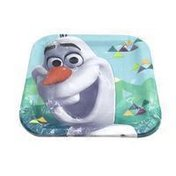 """American Greetings 7"""" Olaf Square Paper Party Plate"""