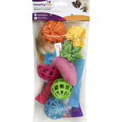 SmartyKat Smarty Stash, Variety Toy Value Pack, 13 Count