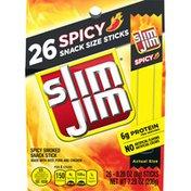 Slim Jim Spicy Smoked Snack Sticks
