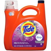 Tide Plus Febreze Freshness Spring And Renewal Scent HE Turbo Clean Liquid Laundry Detergent