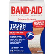 Band-Aid Brand Tough Strips Adhesive Bandages