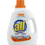 all Laundry Detergent, with Stainlifters