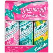 Batiste Trio Floral & Flirty Blush/Clean & Classic Original/Coconut & Exotic Tropical Dry Shampoo