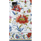 Caspari Napkins, Chinese Ceramic White, 3-Ply