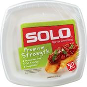 Solo Plates, Premium Strength, 6.7 Inch