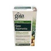 Gaia Herbs Singl Herbs Saw Palmetto Dietary Supplemnt