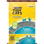 Purina Tidy Cats Non Clumping Cat Litter, Instant Action Low Tracking Cat Litter