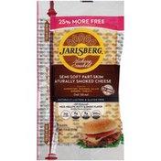 Jarlsberg Hickory Smoked Semi Soft Part-Skim Naturally Smoked Cheese