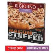 DiGiorno Bacon and Cheese Stuffed Crust Chicken Bacon Ranch Rumble Frozen Pizza