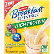 Carnation Breakfast Essentials HIGH PROTEIN Classic French Vanilla