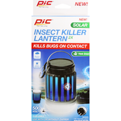 Pic Corporation Insect Killer Lanterin, Solar, 500 Volts