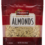 Mariani Almonds, Blanched, Slivered
