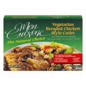Mon Cuisine Vegetarian Breaded Chicken Style Cutlet