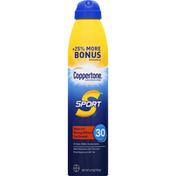 Coppertone Sunscreen Spray, Water Resistant, SPF 30