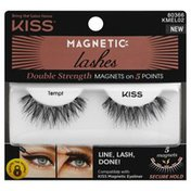 Kiss Magnetic Lashes, Double Strength, Tempt