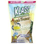 Klass Listo Drink Mix, Pina Colada Flavored ‑