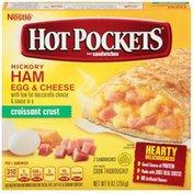 Hot Pockets Ham Egg & Cheese Frozen Sandwiches