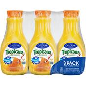 Tropicana Orange Juice With Calcium, 3 x 59 oz