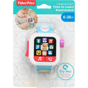 Fisher-Price Time to Learn Smartwatch, 6-36M