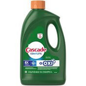 Cascade Complete Gel + Oxi, Dishwasher Detergent