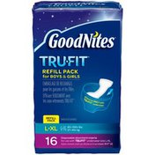 GoodNites TRU-FIT Disposable Absorbent Inserts for Boys & Girls