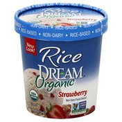 Rice Dream Frozen Dessert, Non-Dairy, Strawberry