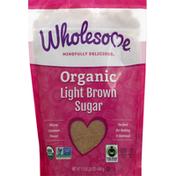 Wholesome Sugar, Organic, Light Brown