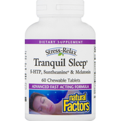 Natural Factors Tranquil Sleep, Chewable Tablets