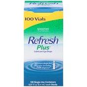 Refresh Plus Lubricant Eye Drops Sensitivect