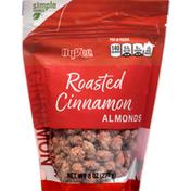 Hy-Vee Almonds, Cinnamon, Roasted