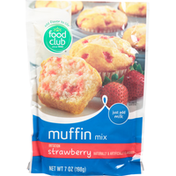 Food Club Muffin Mix, Strawberry