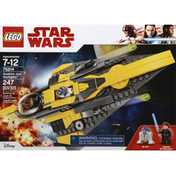 Lego Star Wars Building Toy, Anakins Jedi Starfighter