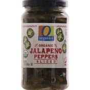 O Organics Jalapeno Peppers, Organic, Sliced