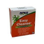 Now Easy Cleanse 15 Day Program AM & PM Detoxifying & Cleansing Support Veg Capsules