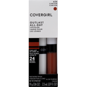 CoverGirl Outlast All-Day Moisturizing Lip Color, Canyon