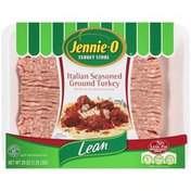 Jennie-O Italian Seasoned Lean Ground Turkey (002043)