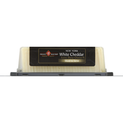 Private Selection Cheese, Extra Sharp, New York White Cheddar