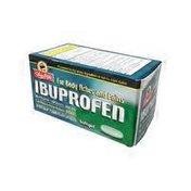 ShopRite Ibuprofen Capsules, 200 Mg