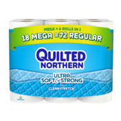 Quilted Northern Bathroom Tissue, Unscented, Mega Rolls, 2-Ply