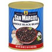 San Marcos Black Beans, Whole